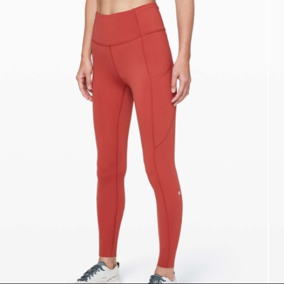 Lululemon // Fast & Free Tight in Cayenne